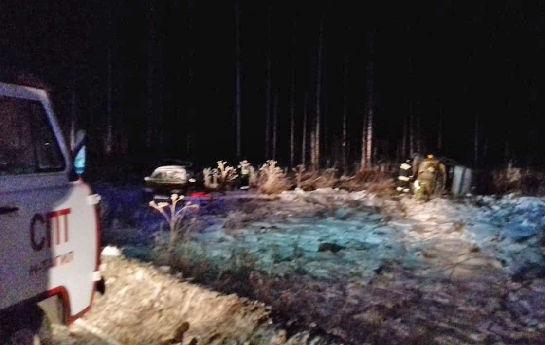 Пожарные предотвратили взрыв «ГАЗели» на трассе Нижний Тагил – Серов