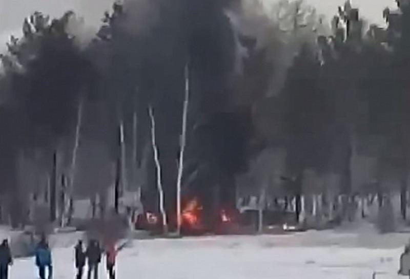 В Улан-Удэ разбился вертолёт – погибли четыре человека