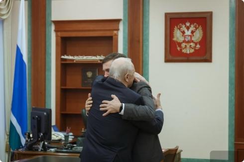 Евгений Куйвашев поблагодарил Эдуарда Росселя за поддержку заявки Екатеринбурга на ЭКСПО-2025