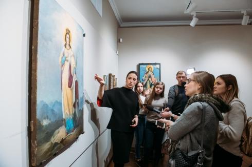 В Екатеринбурге открылась выставка, посвященная святой Екатерине