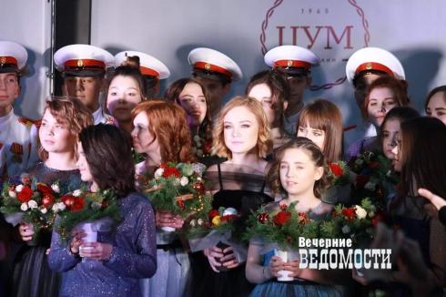 Воспитанницы детских домов приняли участие в модном показе от Юлии Михалковой