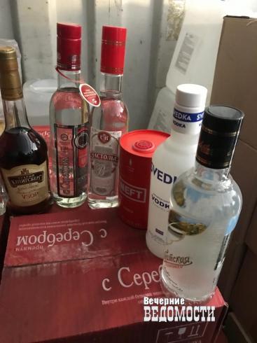 Оперативники свердловского УЭБиПК изъяли более 7000 бутылок «контрафакта» на КОРе