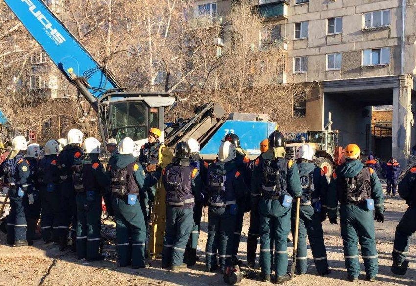 Под завалами в Магнитогорске найдены тела ещё двух человек, число жертв возросло до 17