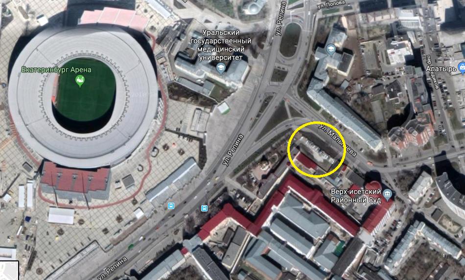 В Екатеринбурге напротив «Екатеринбург Арены» откроется «тюремный» музей