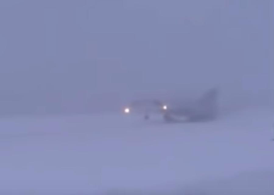 Жуткое видео крушения Ту-22М3 в Мурманской области появилось в сети