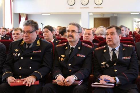 В свердловском полицейском главке  подвели итоги борьбы с преступностью в 2018 году