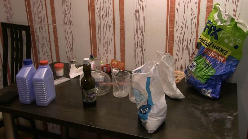 33-летний екатеринбуржец задержан по подозрению в изготовлении метилэфедрона