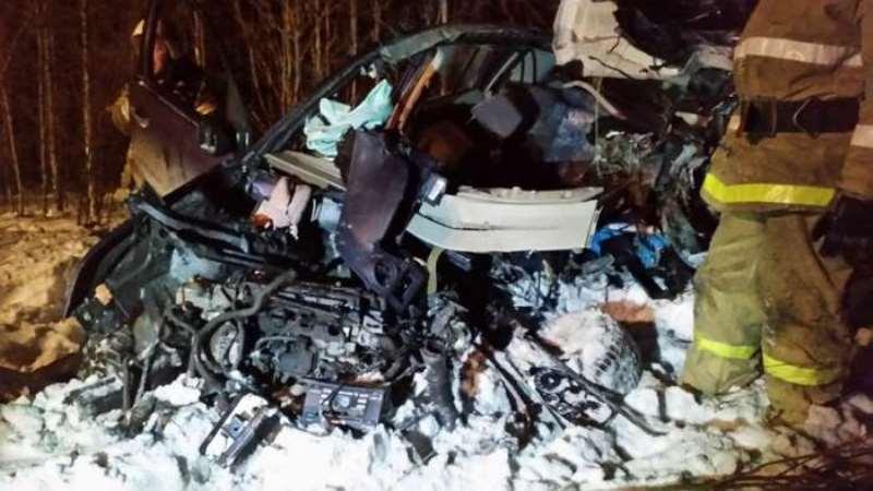 В ДТП с фурой под Екатеринбургом погибли два человека
