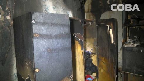 Мужчина спас ребенка из горящей квартиры на улице Агрономической