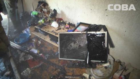 Утром из дома на Химмаше из-за пожара эвакуировали 15 человек