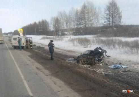 Смертельное ДТП произошло сегодня на трассе Екатеринбург - Тюмень