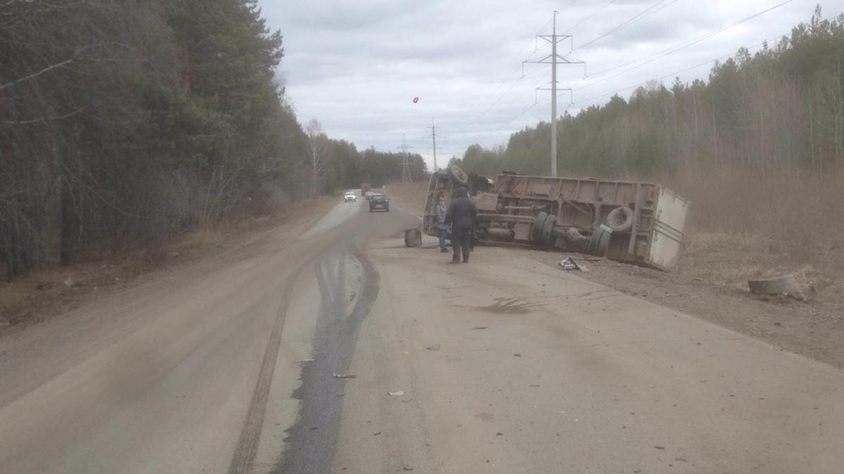 В ДТП под Екатеринбургом пострадал полуторагодовалый ребёнок