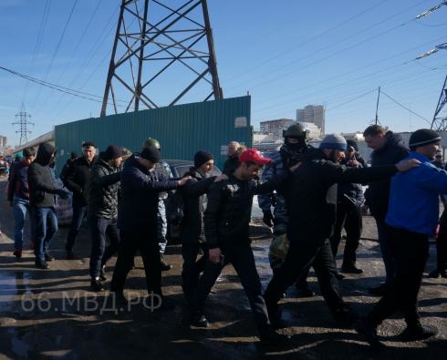 Из Свердловской области выдворят 96 нелегальных мигрантов