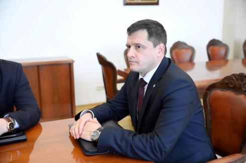 Шумкову представили нового начальника Центра спецсвязи и информации ФСО Зауралья