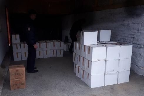 В Шумихе полиция накрыла сразу 4 точки сбыта нелегального алкоголя