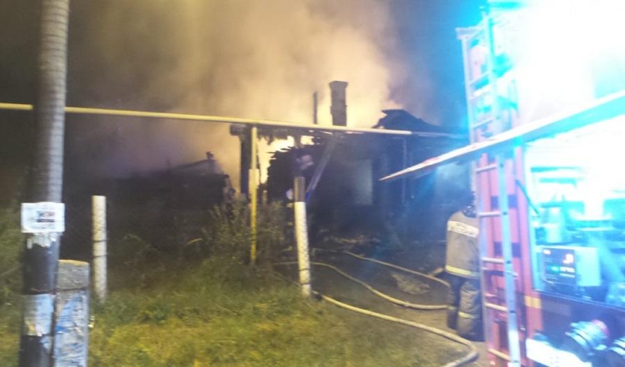 Пожар в Косулино унёс жизни двух человек