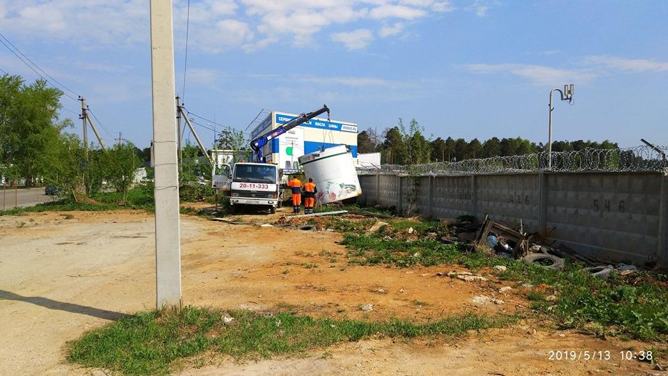 В Орджоникидзевском районе ликвидированы незаконные постройки