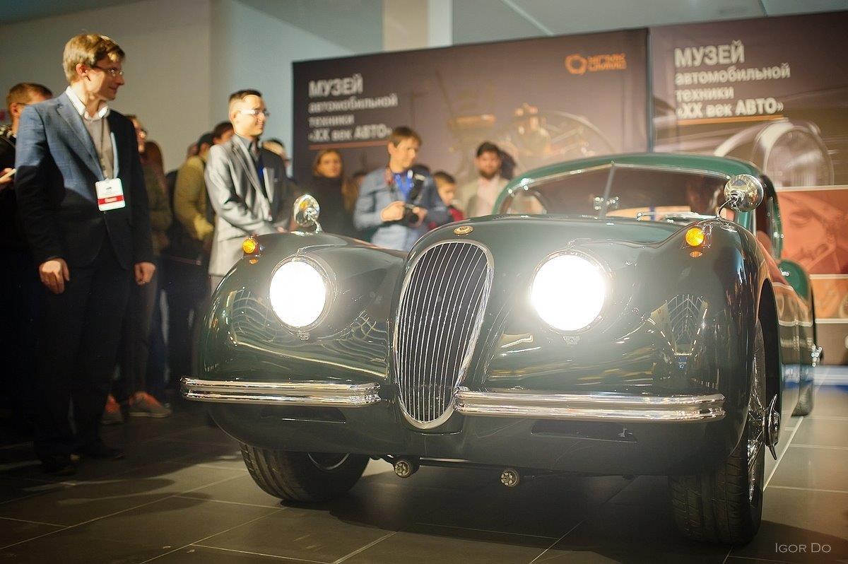 В Ночь музеев в Верхней Пышме презентовали роскошные спорткары