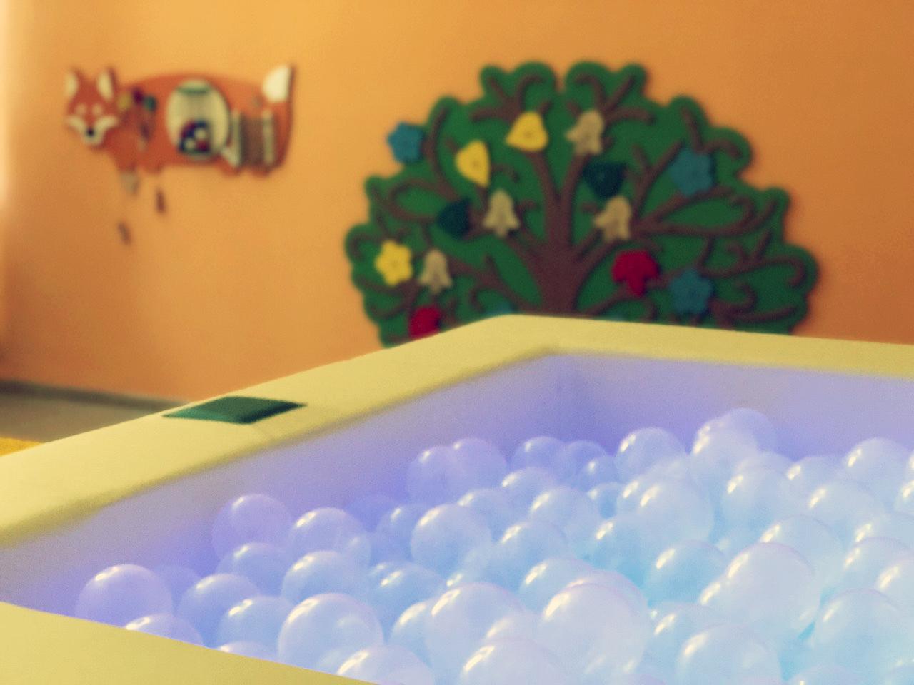 В Асбесте фонд «Дети России» оборудовал сенсорную комнату в паллиативном отделении больницы