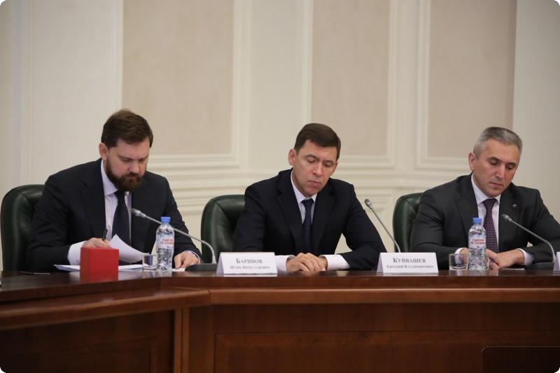 Замруководителя администрации президента Магомедов провел совещание в Екатеринбурге