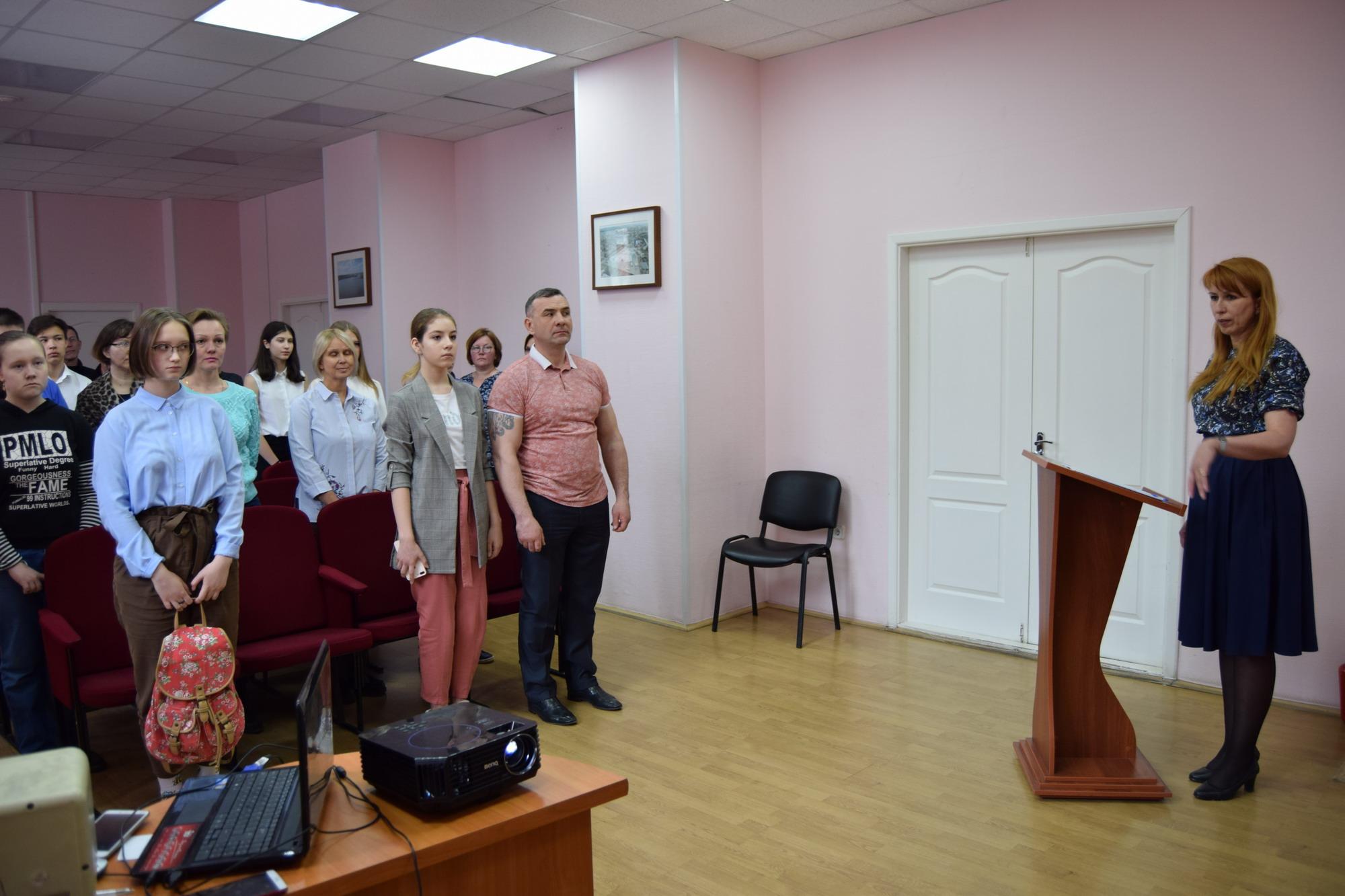 В администрации Чкаловского района вручили паспорта гражданина РФ
