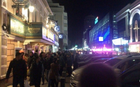 И вновь на выход: в Екатеринбурге ночью эвакуировали «Гринвич»