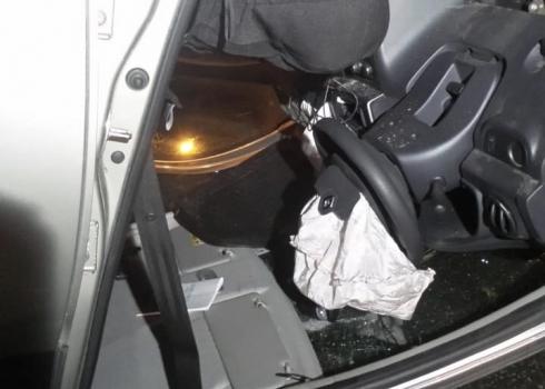 Сработали подушки безопасности: в Екатеринбурге ночью перевернулась иномарка