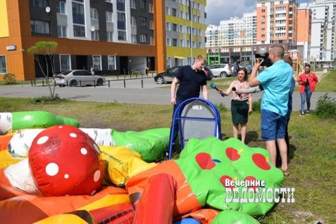 В Екатеринбурге общественники проверили детские аттракционы (ФОТО)