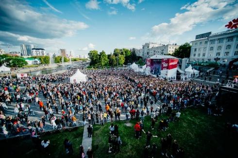 Катя IOWA выступила на фестивале KFC BATTLE FEST в Екатеринбурге