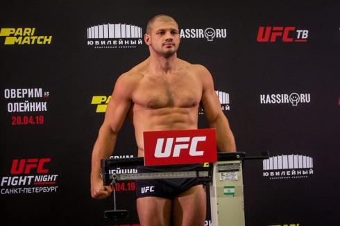 «Уральский Халк» из-за проваленного допинг-теста расторг контракт с UFC