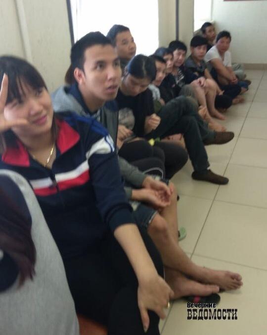 Оперативники свердловского ФСБ нашли 60 нелегалов-вьетнамцев в Полевском