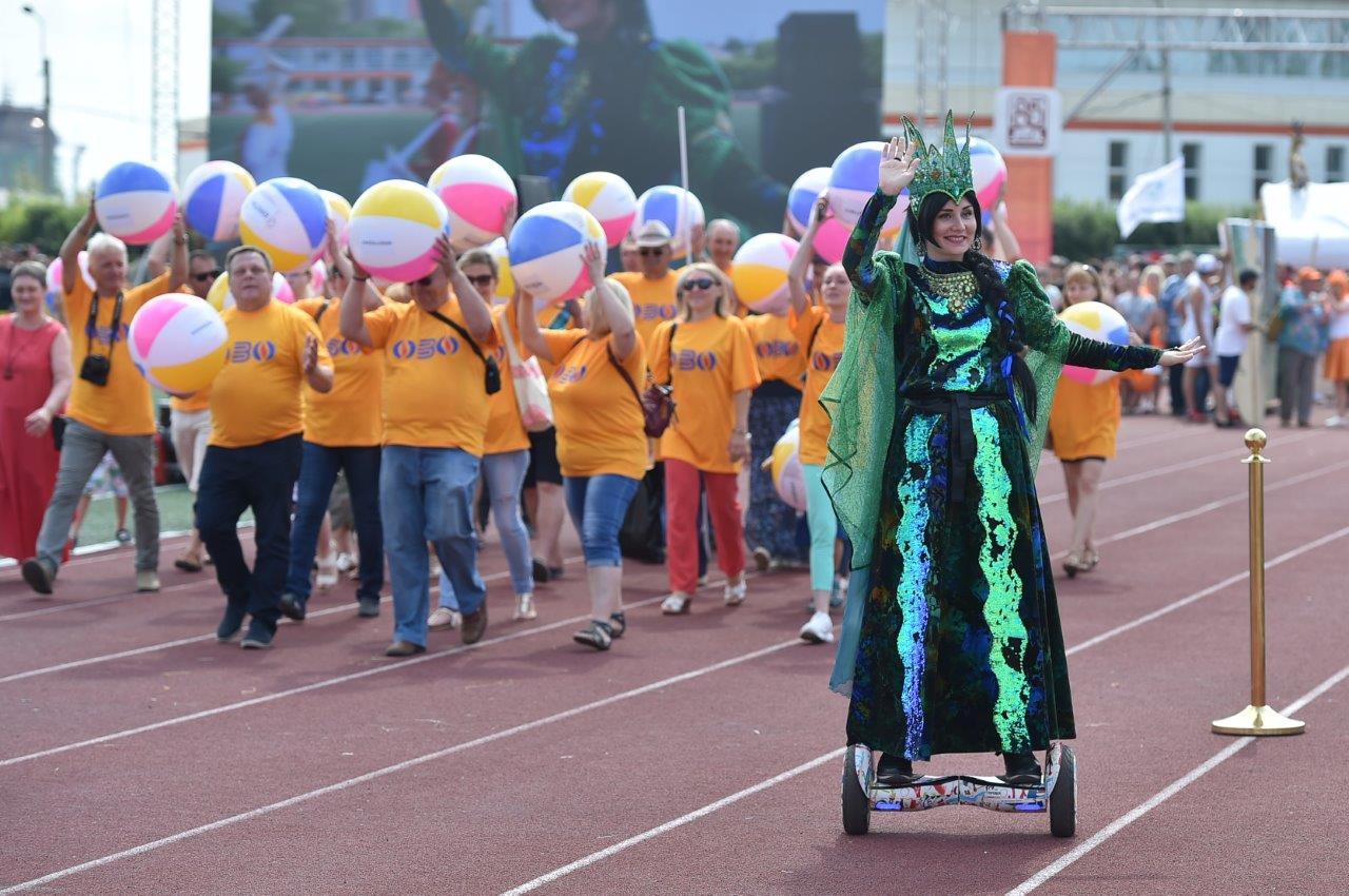 Верхняя Пышма встретила День металлурга красочным карнавалом
