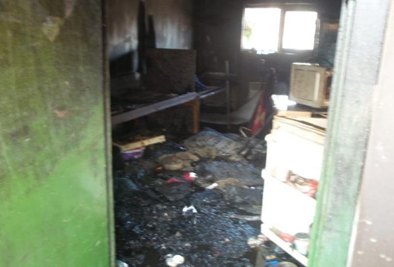 В Екатеринбурге во время пожара на стройке погиб рабочий