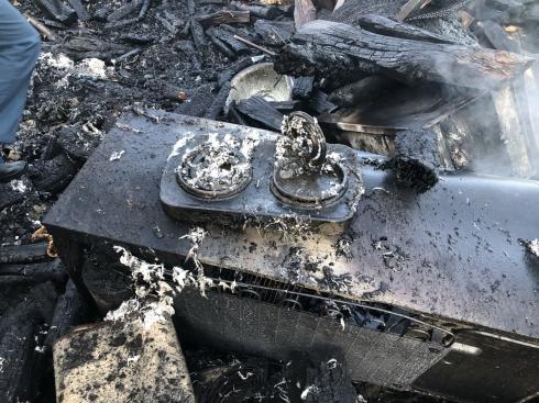 В Курганской области на пожаре погибли пожилая женщина и две ее дочери