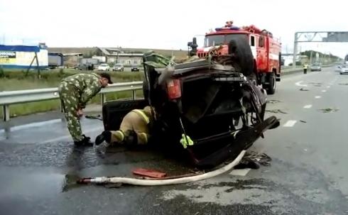 На Пермском тракте произошло ДТП. Есть пострадавший