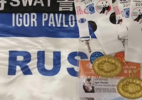 Два свердловчанина завоевали награды на Всемирных играх полицейских и пожарных