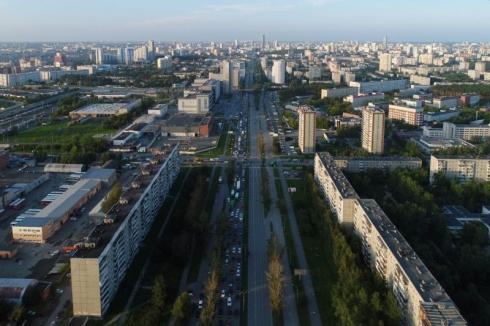 В Екатеринбурге открылась развязка на Серафимы Дерябиной — Объездной