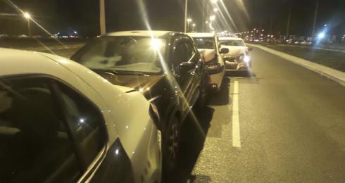 Почти как ДТП на Малышева: в Екатеринбурге пьяный водитель Toyota протаранил несколько машин