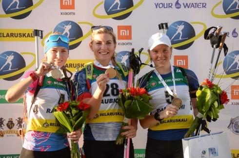 Свердловчанки в копилку сборной принесли три награды чемпионата мира по летнему биатлону