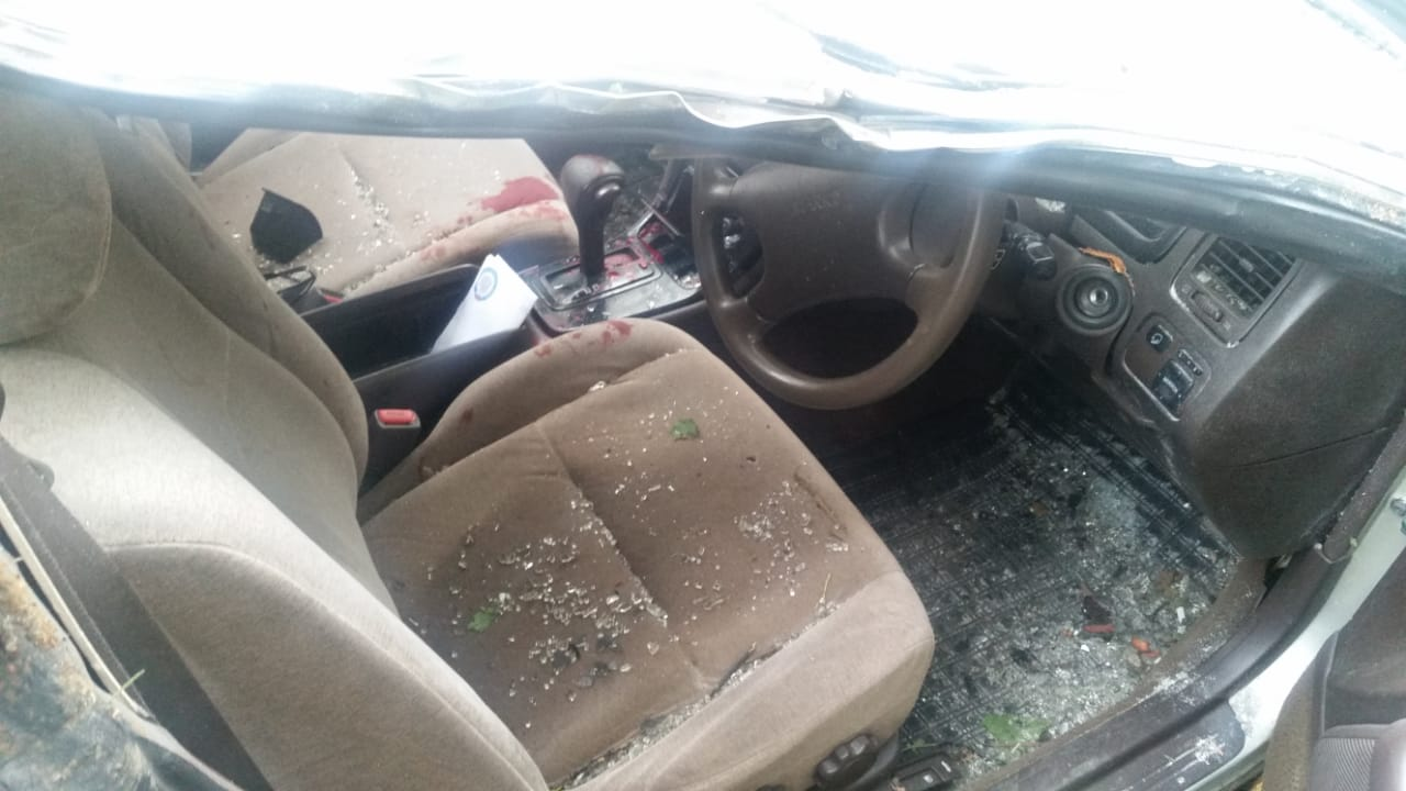 На Режевском тракте иномарка с пьяным водителем врезалась в дерево