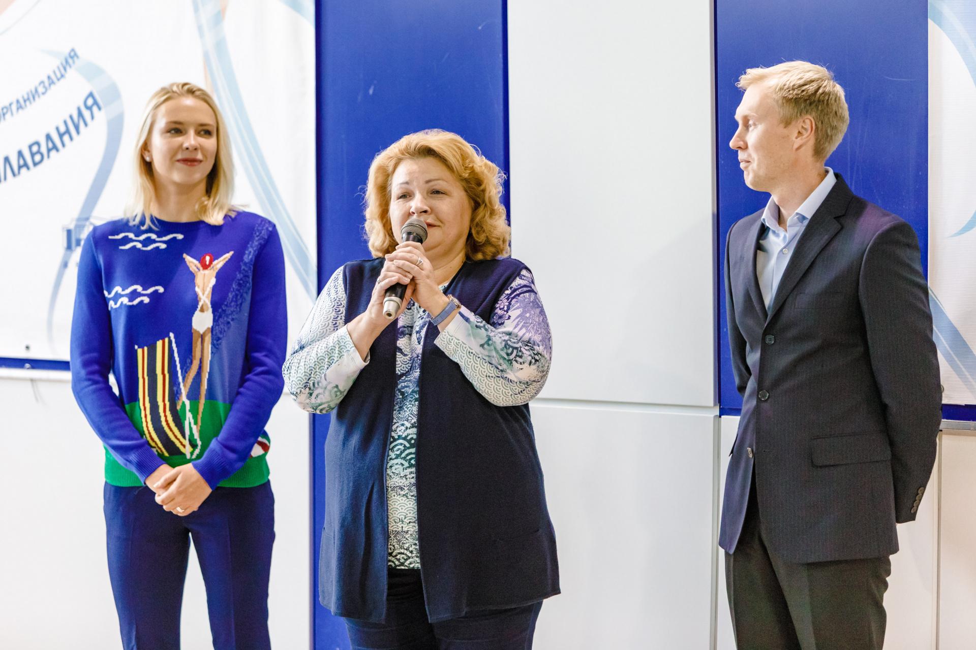 В Верхней Пышме прошёл турнир по синхронному плаванью на призы олимпийской чемпионки Анжелики Тиманиной