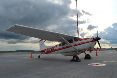 Путешественники Дэвид и Том Бергеры на своём самолёте посетили Екатеринбург