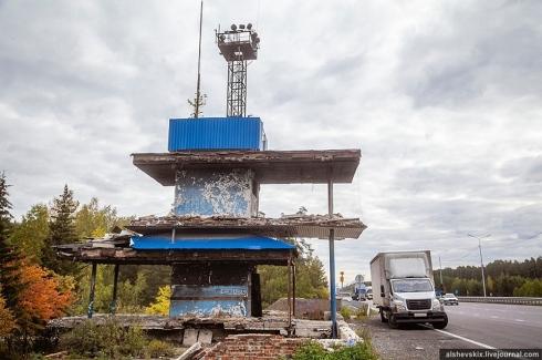 В Екатеринбурге могут снести старый пост ГИБДД на Металлургов