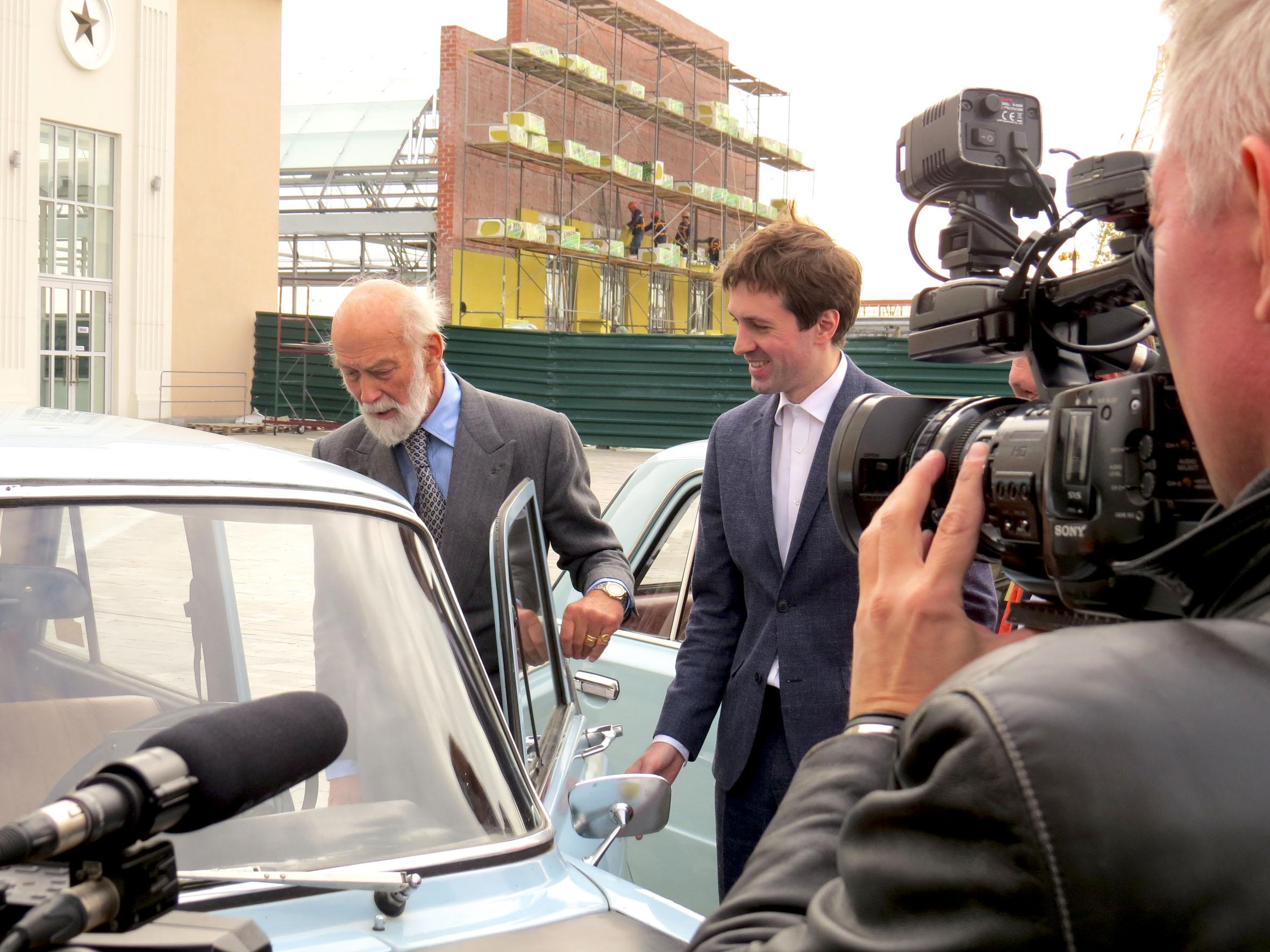 Из Великобритании в Верхнюю Пышму:   британский принц Майкл Кентский посетил Музей автомобильной техники УГМК