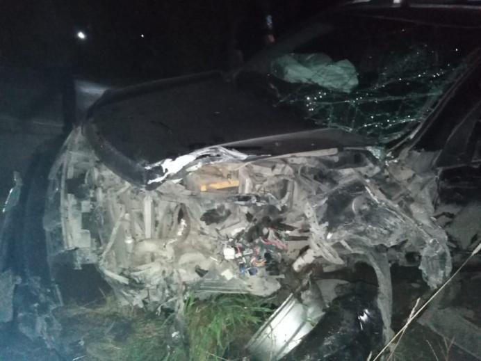 В Свердловской области произошло ДТП, в котором пострадали шесть человек