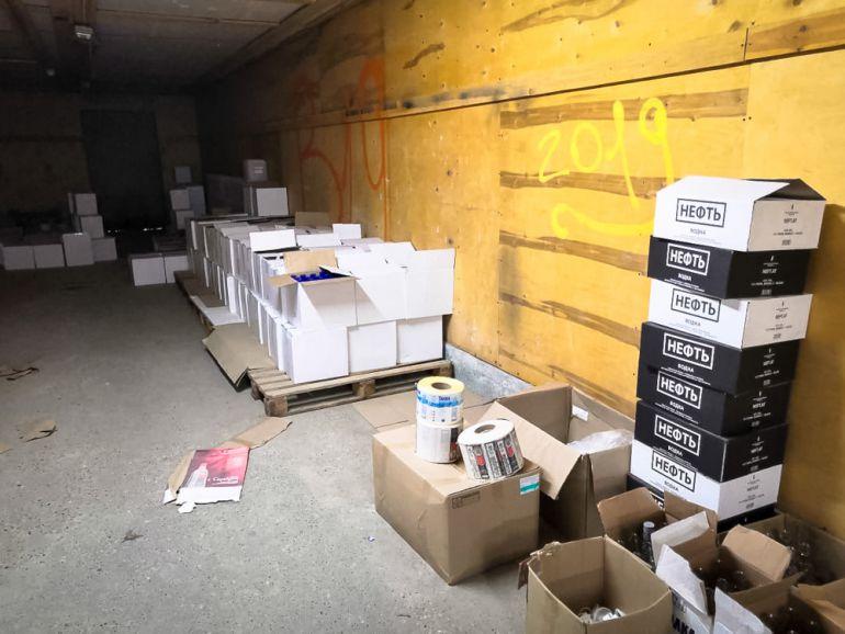 Под Екатеринбургом пресечено нелегальное производство алкогольного фальсификата