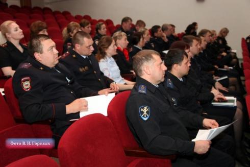 Глава свердловской полиции отчитал полицейских Заречного