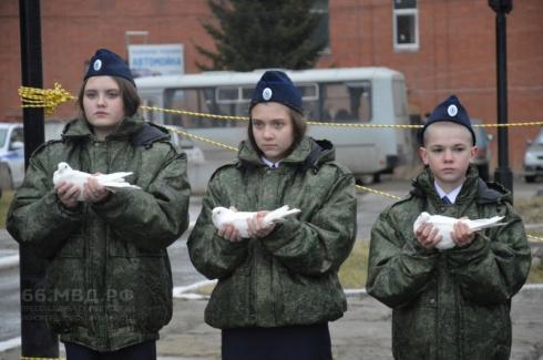 В Невьянске состоялось открытие улицы в честь погибшего лейтенанта МВД Олега Ждановских