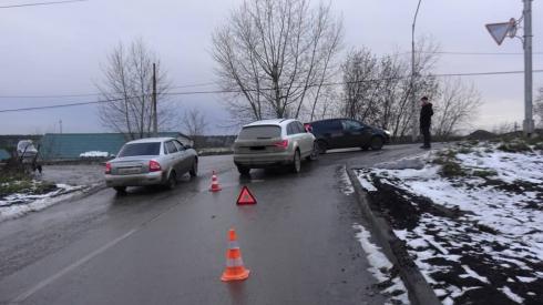 Виновата мать: в Каменске-Уральском в результате ДТП госпитализированы женщина и ее 8-месячный ребенок