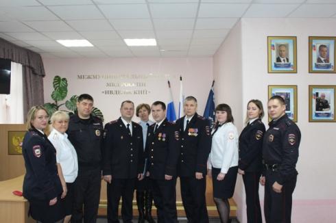Свердловские участковые отмечают свой профессиональный праздник